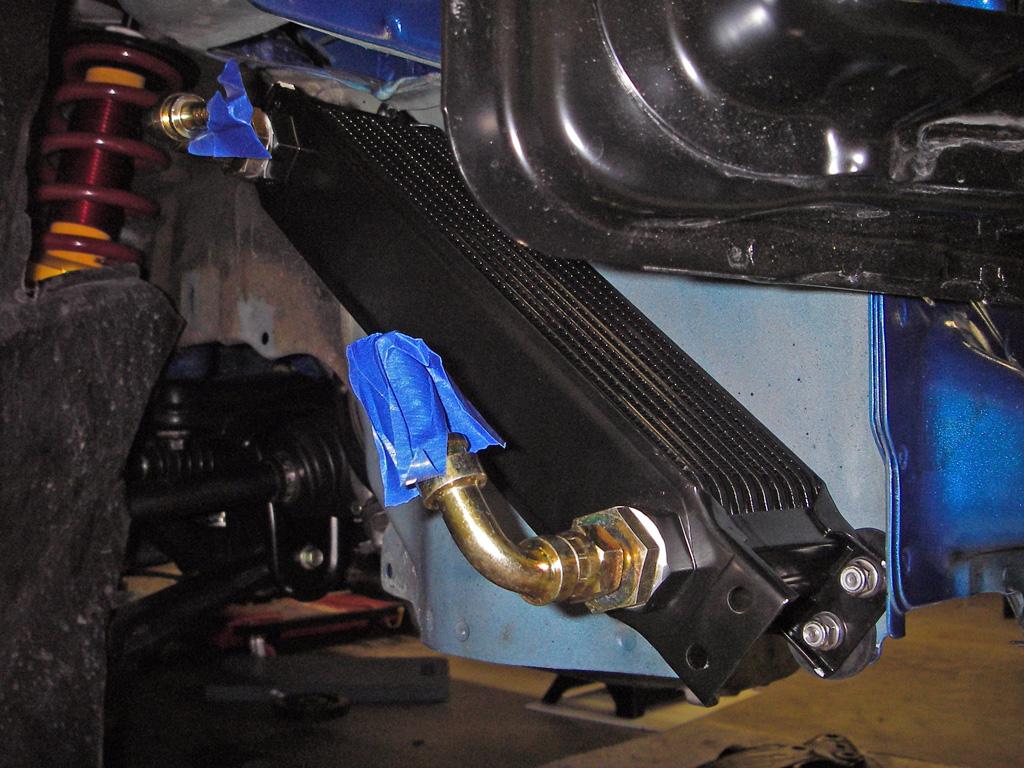 Rotrexoilcooler on Honda Fuel Filter Location